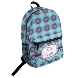 Concentric Circles Student Backpack (Personalized)