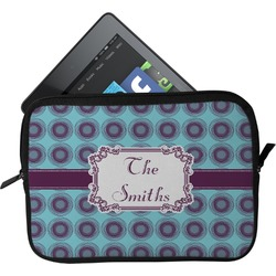 Concentric Circles Tablet Case / Sleeve (Personalized)