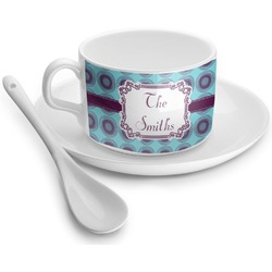 Concentric Circles Tea Cup - Single (Personalized)