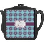 Concentric Circles Teapot Trivet (Personalized)