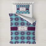 Concentric Circles Toddler Bedding w/ Name or Text