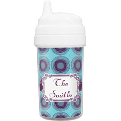 Concentric Circles Toddler Sippy Cup (Personalized)