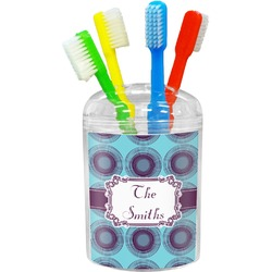 Concentric Circles Toothbrush Holder (Personalized)