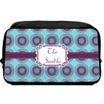 Concentric Circles Toiletry Bag / Dopp Kit (Personalized)
