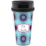 Concentric Circles Travel Mug (Personalized)