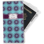 Concentric Circles Travel Document Holder
