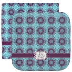 Concentric Circles Facecloth / Wash Cloth (Personalized)