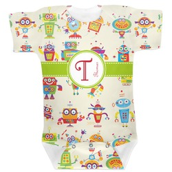 Rocking Robots Baby Bodysuit (Personalized)