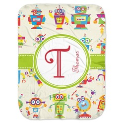 Rocking Robots Baby Swaddling Blanket (Personalized)