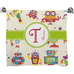 Rocking Robots Full Print Bath Towel (Personalized)