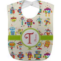 Rocking Robots Baby Bib (Personalized)
