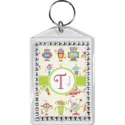 Rocking Robots Bling Keychain (Personalized)