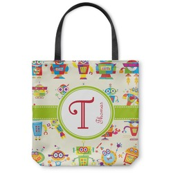 "Rocking Robots Canvas Tote Bag - Small - 13""x13"" (Personalized)"