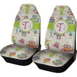 Rocking Robots Car Seat Covers (Set of Two) (Personalized)