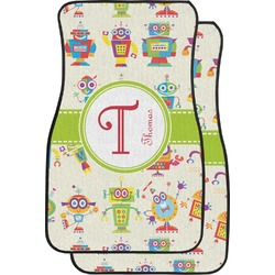 Rocking Robots Car Floor Mats (Front Seat) (Personalized)