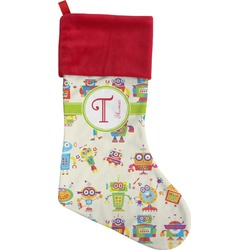 Rocking Robots Christmas Stocking (Personalized)