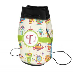 Rocking Robots Neoprene Drawstring Backpack (Personalized)