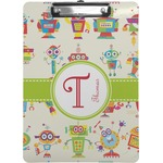 Rocking Robots Clipboard (Personalized)