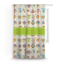 Rocking Robots Curtain (Personalized)