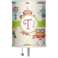 "Rocking Robots 7"" Drum Lamp Shade (Personalized)"