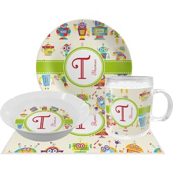 Rocking Robots Dinner Set - 4 Pc (Personalized)