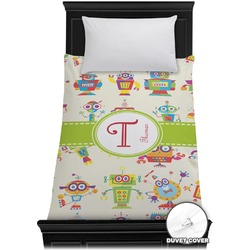Rocking Robots Duvet Cover - Twin (Personalized)