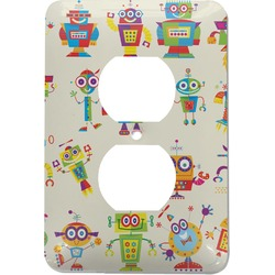 Rocking Robots Electric Outlet Plate (Personalized)