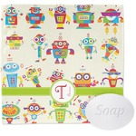 Rocking Robots Wash Cloth (Personalized)