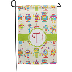 Rocking Robots Garden Flag - Single or Double Sided (Personalized)