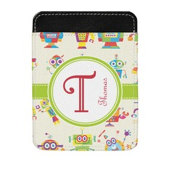 Rocking Robots Genuine Leather Money Clip (Personalized)