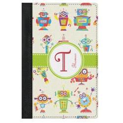 Rocking Robots Genuine Leather Passport Cover (Personalized)