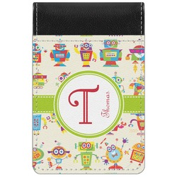 Rocking Robots Genuine Leather Small Memo Pad (Personalized)