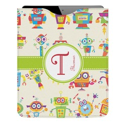 Rocking Robots Genuine Leather iPad Sleeve (Personalized)