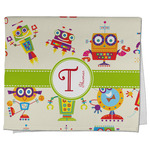 Rocking Robots Kitchen Towel - Full Print (Personalized)