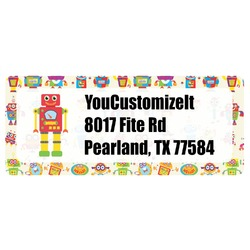 Rocking Robots Return Address Labels (Personalized)