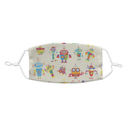 Rocking Robots Kid's Cloth Face Mask (Personalized)