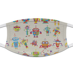 Rocking Robots Cloth Face Mask (T-Shirt Fabric) (Personalized)