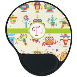 Rocking Robots Mouse Pad with Wrist Support