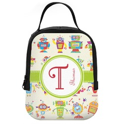 Rocking Robots Neoprene Lunch Tote (Personalized)