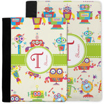 Rocking Robots Notebook Padfolio w/ Name and Initial