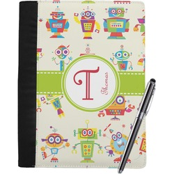 Rocking Robots Notebook Padfolio (Personalized)