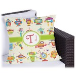 Rocking Robots Outdoor Pillow (Personalized)
