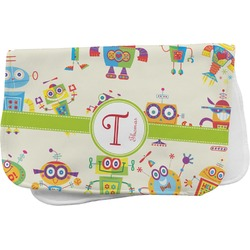 Rocking Robots Burp Cloth (Personalized)