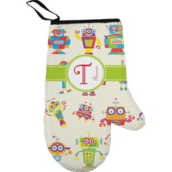 Rocking Robots Oven Mitt (Personalized)