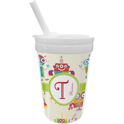 Rocking Robots Sippy Cup with Straw (Personalized)