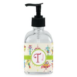 Rocking Robots Soap/Lotion Dispenser (Glass) (Personalized)
