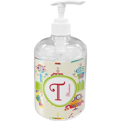Rocking Robots Soap / Lotion Dispenser (Personalized)