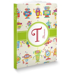 Rocking Robots Softbound Notebook (Personalized)