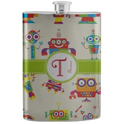 Rocking Robots Stainless Steel Flask (Personalized)