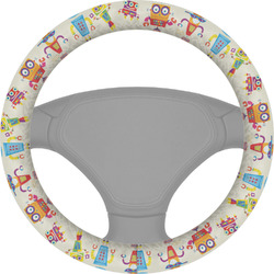 Rocking Robots Steering Wheel Cover (Personalized)